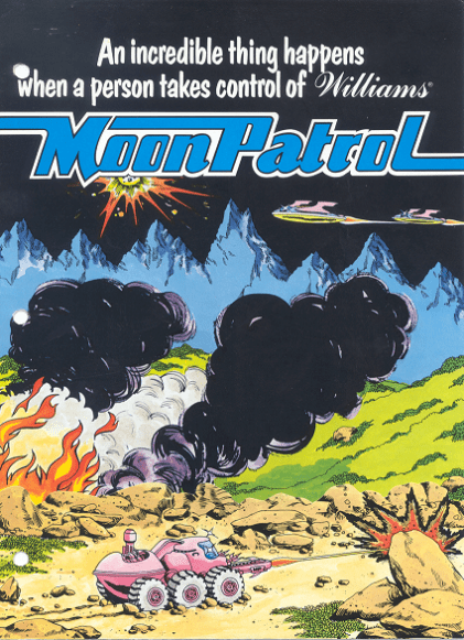 Flyer for Moon Patrol