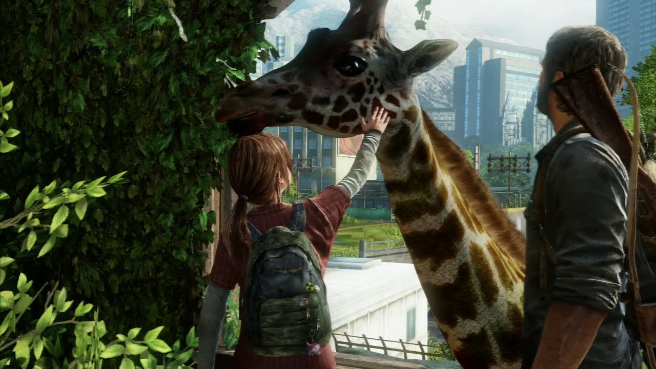 Making The Last of Us' Iconic Giraffe Scene – CONTROL500 on gorilla sounds, farm animal sounds, blue whale sounds, elk sounds, cow sounds, gray whale sounds, dugong sounds, beluga whale sounds, hippopotamus sounds, elephant sounds, tiger sounds, cougar sounds, bear sounds, hyena sounds, killer whale sounds, coyote sounds, baby owl sounds, zebra sounds, cat sounds, tasmanian devil sounds,