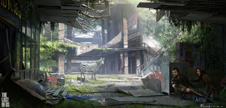 Making The Last Of Us Iconic Giraffe Scene Control500 - The-last-of-us-new-maps