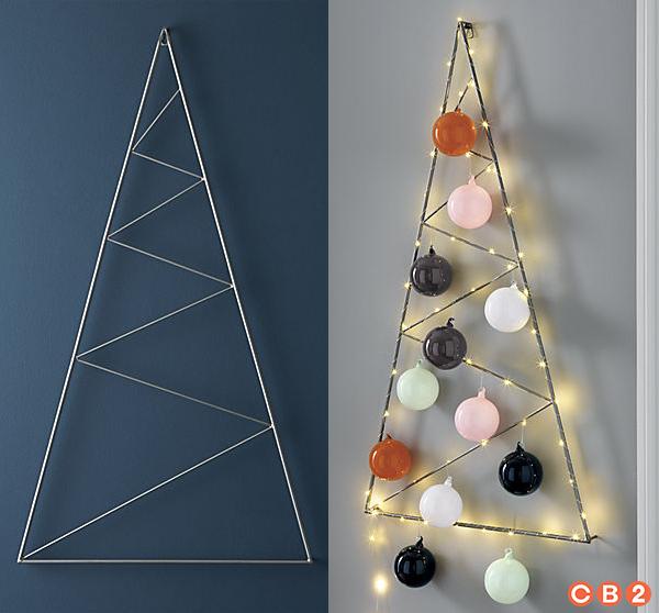 Diy Minimal Christmas Tree Card Holder Ctrl Curate