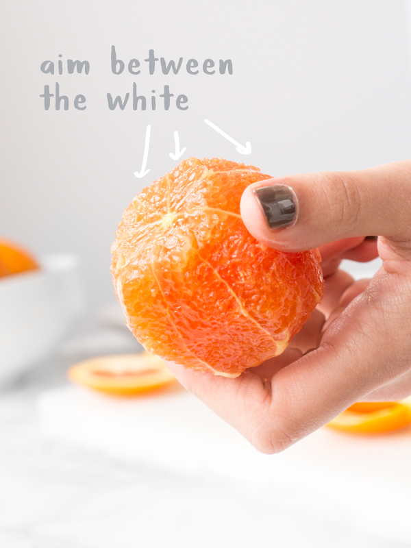 segment an orange