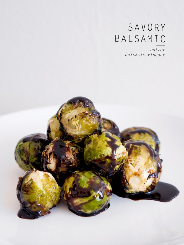 balsamic vinegar brussels sprouts