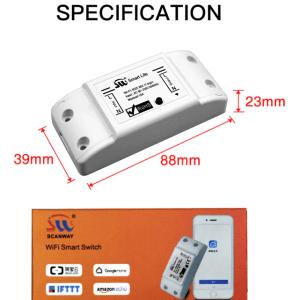مفتاح إضاءة ذكي DIY WiFi