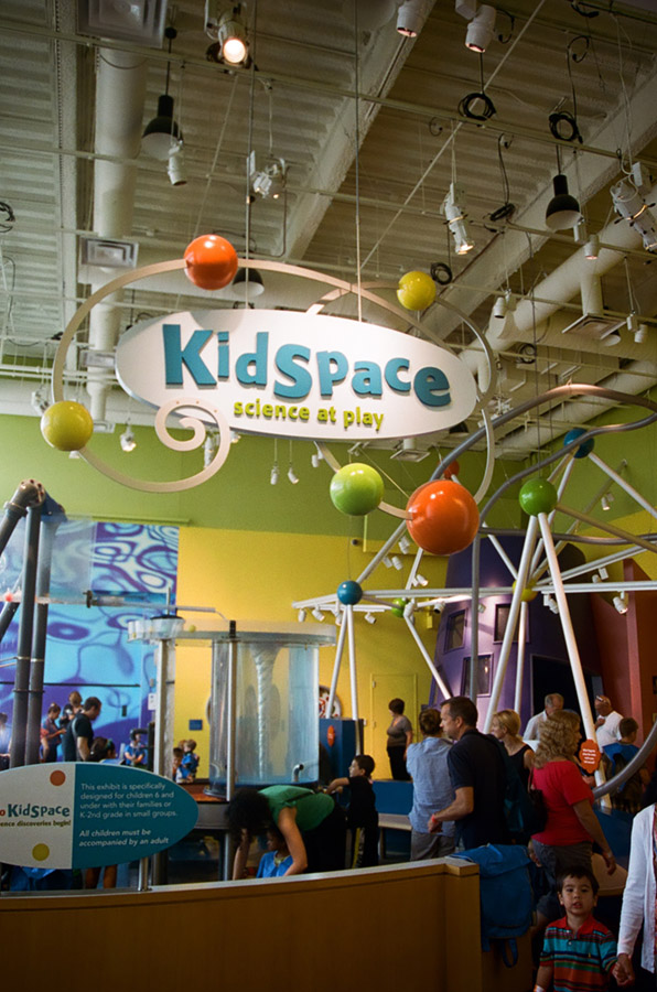 Kidspace Connecticut Science Center