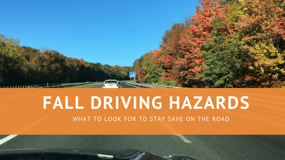 Fall Driving Hazards