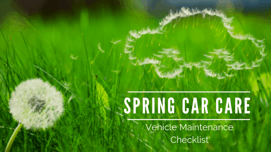 Spring Vehicle Maintenance