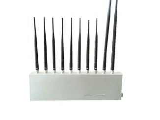 3G 4G GPS WiFi UHF VHF All Signal Jammer