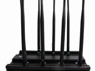 3G 4G Wimax Phone Blocker WiFi Jammer & GPS VHF UHF Jammer