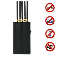 Cell phone & WI-Fi & GPS L1 Jammer