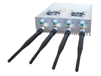 Desktop Cell Phone Jammer with 2 Cooler Fans