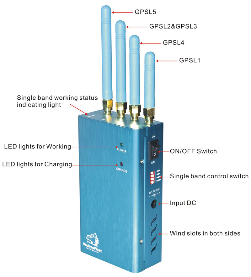 Signal blocker Darlinghurst - Advance High Power 3G Mobile Phone + GPS Jammer with Remote Control 40 Meters - GSM/CDMA/3G Jammer