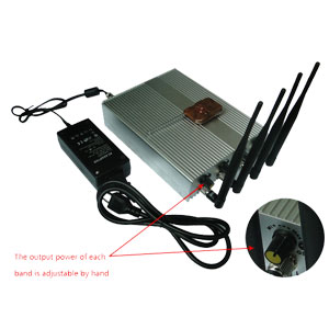 Remote Control Mobile Phone Jammer