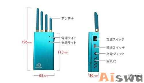 電波遮断機ポータブルGPS【TG-2000-121G】 2