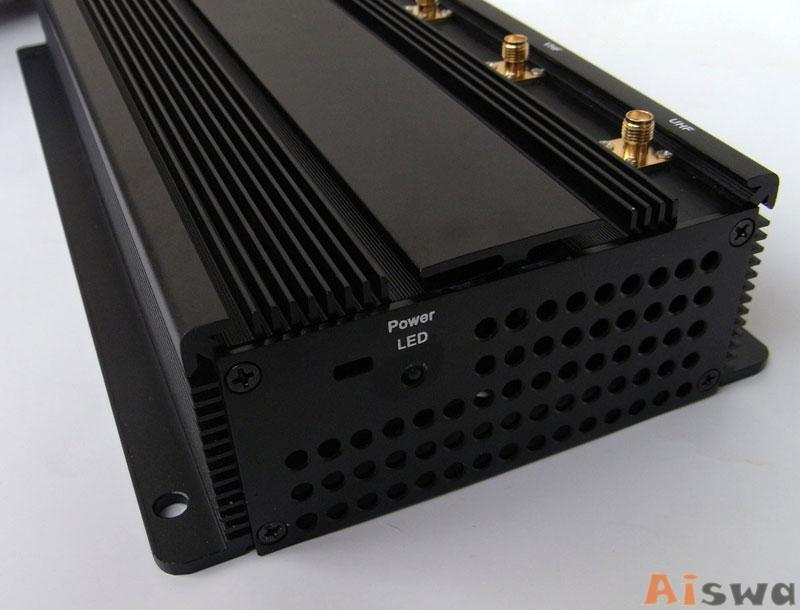 High Power 6 Antenna GPS,WiFi,VHF,UHF and Cell Phone Jammer CTS-JU6 3