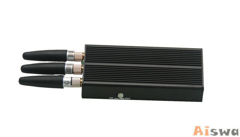 Портативный сотовых и GPS подавитель CTS-JH 4
