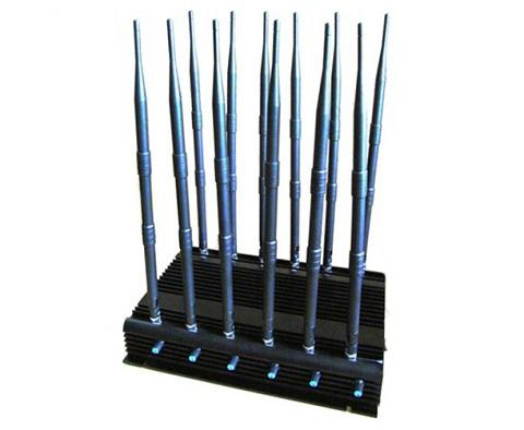 Стационарный подавитель сотовых телефонов GSM, 3G, 4G, Wi-Fi,GPS подавитель 1