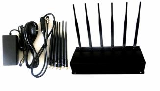 Подавитель GSM, 3G, 4G сигналов (радиус действия до 40 метров)