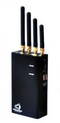 Подавитель GSM, Wi-Fi, 3G сигналов Black Wolf (радиус действия до 20 метров)