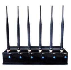 Стационарный подавитель сотовых телефонов GPS, Wi-Fi, Bluetooth, 3G, 4G, GSM 1800, GSM 900, DCS, PHS