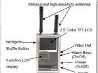 Wifi Jammer Kablosuz Gizli Kamera Tespit Cihazı
