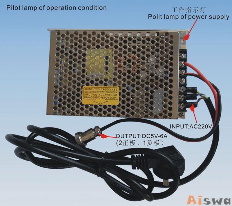 5 Antenna 25W High Power 3G Cell phone & WiFi Jammer with Outer Detachable Power Supply 6