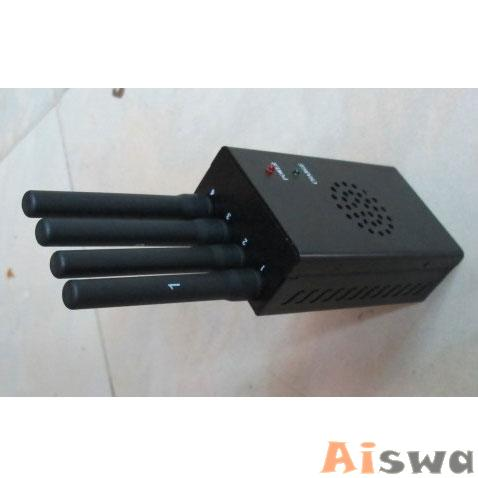 Portable Mini Mobile Signal Jammer (GSM CDMA DCS PHS 3G TD-SCDMA) 4