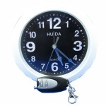 Round alarm clock