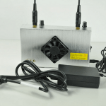UHF Jammer WIFI blocker with battery CTS-UWE 4