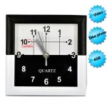 Wall clock hidden camera