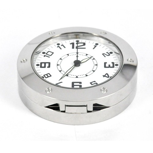 round table clock camera 1
