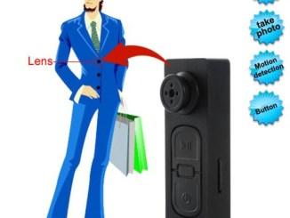 Button hidden Camera