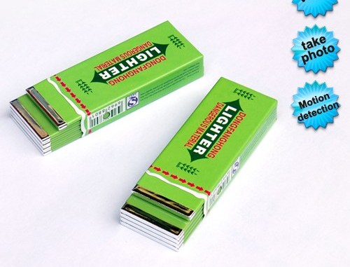 Chewing Gum Hidden Camera