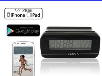 Table Clock Wireless Wifi Camera
