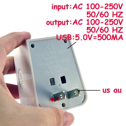 Universal Adapter DVR Spy Camera 6