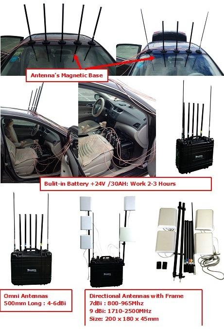 LOJACK UHF VHF WIFI JAMMER 1