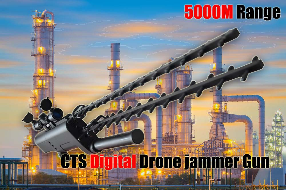 CTS DIGITAL DRONE JAMMER GUN 3.0