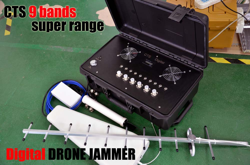 9 bands gifital drone jammer