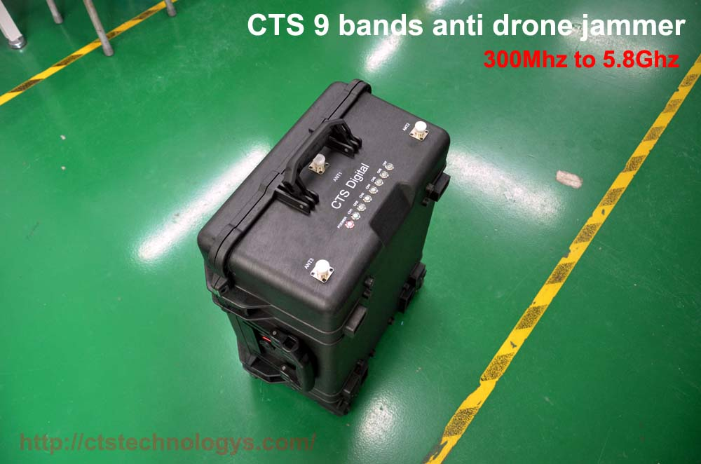 9 bands anti drone systems 1