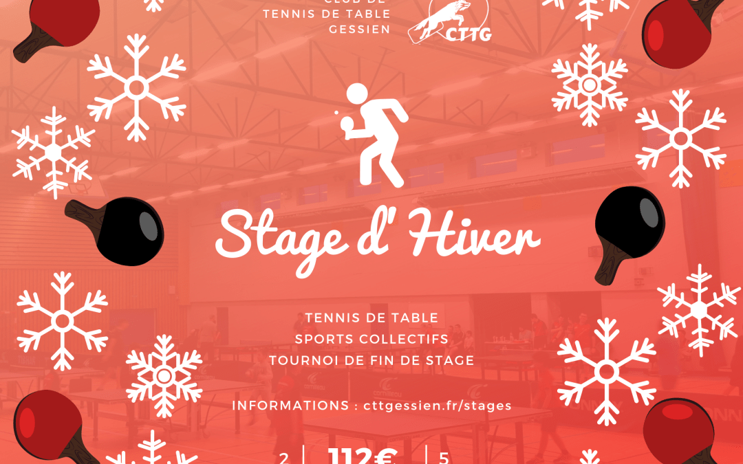 Stage d'Hiver