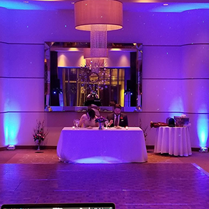 CT Wedding DJ Uplighting