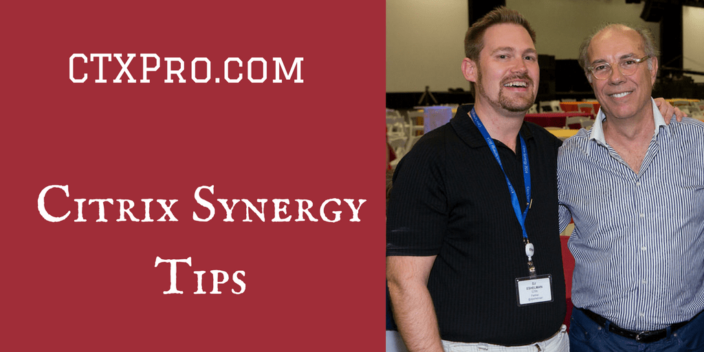 How to Prepare for Citrix Synergy