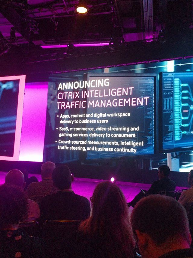 Announcement of Citrix Intellegent Traffic Management (Cedexis)