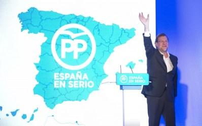 <p>Mariano Rajoy presenta a los candidatos para las elecciones generales el 21 de noviembre de 2015.</p>