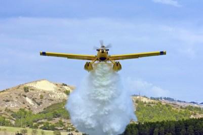 <p>Avión de extinción de incendios.</p>