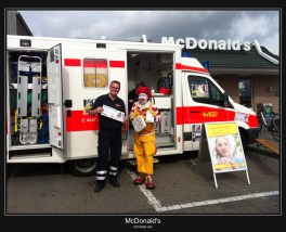 Auch Ronald McDonald vertraut auf CU-IPAD