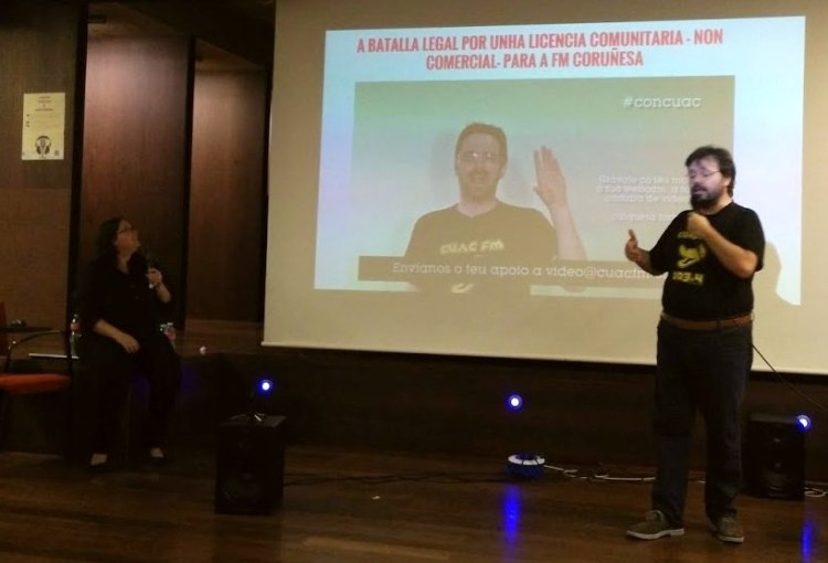cuac fm en Ourense