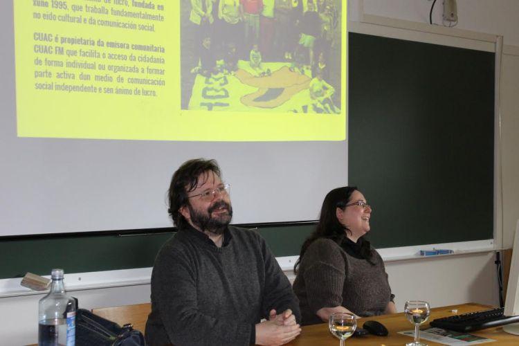 Isa lema e Mariano Fernández na USC