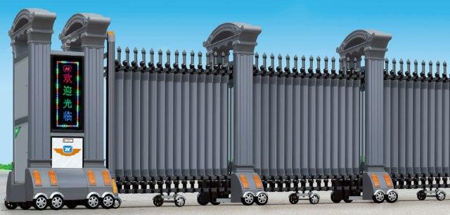cong xep hop kim nhom 1303 B - Lắp cửa cổng xếp Tại Tây Ninh