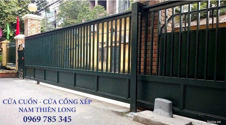 Báo giá cửa cổng xếp sắt tại Bình Phước