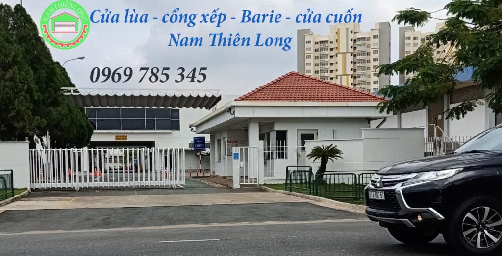 Cổng tự động tại Bình Phước